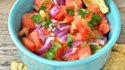 More pictures of Watermelon and Pineapple Salsa