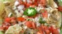 More pictures of Chicken Enchilada Nachos