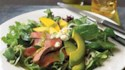 More pictures of Pepper Steak Salad with Mango, Avocado and Jalapeno Vinaigrette