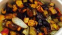 More pictures of Roasted Pumpkin with Root Vegetables and Broccoli