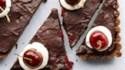 More pictures of No Bake Dark Chocolate Cherry Tart