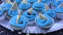 More pictures of Shark Cupcakes