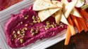 More pictures of Roasted Beet and Goat Cheese Dip with Pistachios