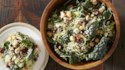 More pictures of Kale and Brussels Slaw with Quinoa