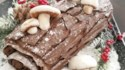 More pictures of Buche de Noel