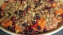 More pictures of Sweet Potato Cranberry Bake