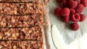 More pictures of No-Bake Raspberry Peanut Butter Granola Bars