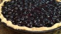 More pictures of Patsy's Half-Baked Blueberry Pie