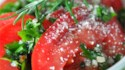 More pictures of Sliced Tomatoes with Fresh Herb Dressing