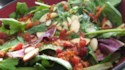 More pictures of Baby Greens with a Warm Gorgonzola Dressing