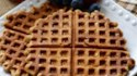 More pictures of Sweet Potato Waffles