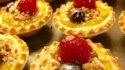 More pictures of Raspberry Streusel Tart