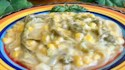 More pictures of Rajas Con Crema, Elote Y, Queso (Creamy Poblano Peppers and Sweet Corn)