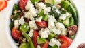 More pictures of Crumbly Gorgonzola Strawberry Quinoa Salad