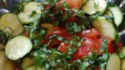 More pictures of Raw Zucchini Salad with Tomato and Basil