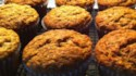 More pictures of Banana and Flax Seed Muffins