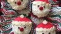 More pictures of Christmas Santa Cupcakes