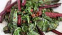 More pictures of Beet Greens and Kale Sauteed with Bacon and Garlic