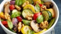 More pictures of Roasted Vegetables with Walnuts, Basil and Balsamic Vinaigrette