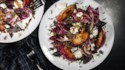 More pictures of Grilled Radicchio and Plum Salad