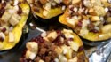 More pictures of Apple and Sausage Stuffed Acorn Squash