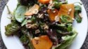 More pictures of Mixed Greens with Hazelnuts and Persimmons