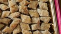 More pictures of Christmas Baklava