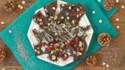 More pictures of Christmas Chocolate Bark 3 Ways: Pistachio, Raspberry, and Coconut Bark