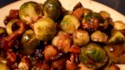 More pictures of Maple-Roasted Brussels Sprouts with Apples and Cranberries