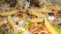 More pictures of Penne with Asparagus and Mushrooms