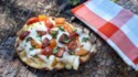More pictures of Campfire Caprese Naan Pizza