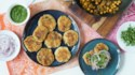 More pictures of Indian Chole Aloo Tikki
