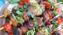 More pictures of Grilled Panzanella Beef Kabobs
