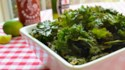 More pictures of Sriracha-Lime Kale Chips