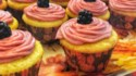 More pictures of Lemon Cupcake with Blackberry Buttercream