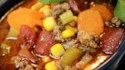 More pictures of Hamburger Soup I