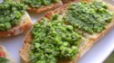 More pictures of Bruschetta with Peas and Mint
