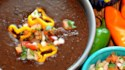 More pictures of Instant Pot® Spicy Black Bean Soup (Vegan)