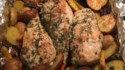 More pictures of Broiled Chicken Breasts with Herbs, Carrots, and Red Potatoes