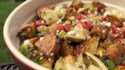 More pictures of Roasted Potato Salad with Balsamic Dressing