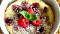 More pictures of Raspberry Clafoutis