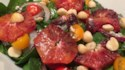 More pictures of Spinach Salad with Blood Oranges and Macadamia Nuts