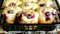 More pictures of Dairy-Free Breakfast Blueberry Cheesecake Muffins