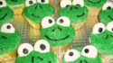 More pictures of Frog Cupcakes
