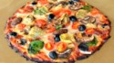 More pictures of Bacon-Artichoke Cauliflower Pizza