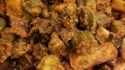 More pictures of Indian Okra in the Air Fryer (Kurkuri Bhindi)