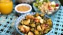 More pictures of Okra and Kohlrabi Vegan Breakfast Hash