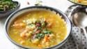 More pictures of Split Pea Soup with Sun-Dried Tomato Gremolata