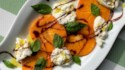 More pictures of Fuyu Persimmon and Burrata Caprese Salad