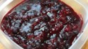 More pictures of Blue Cranberry Sauce